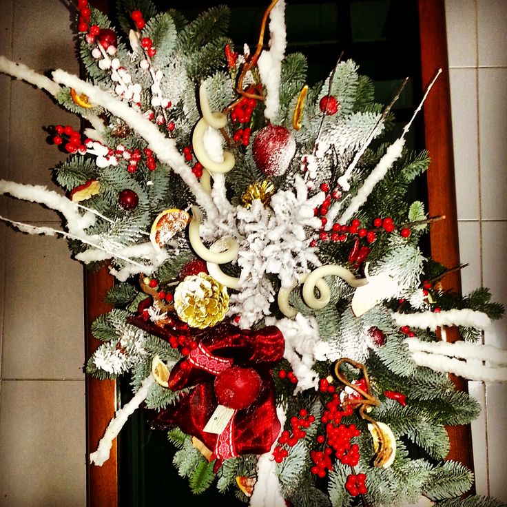 #christmasdecoration #centerpiece beautiful hand made centerpiece for Christmas