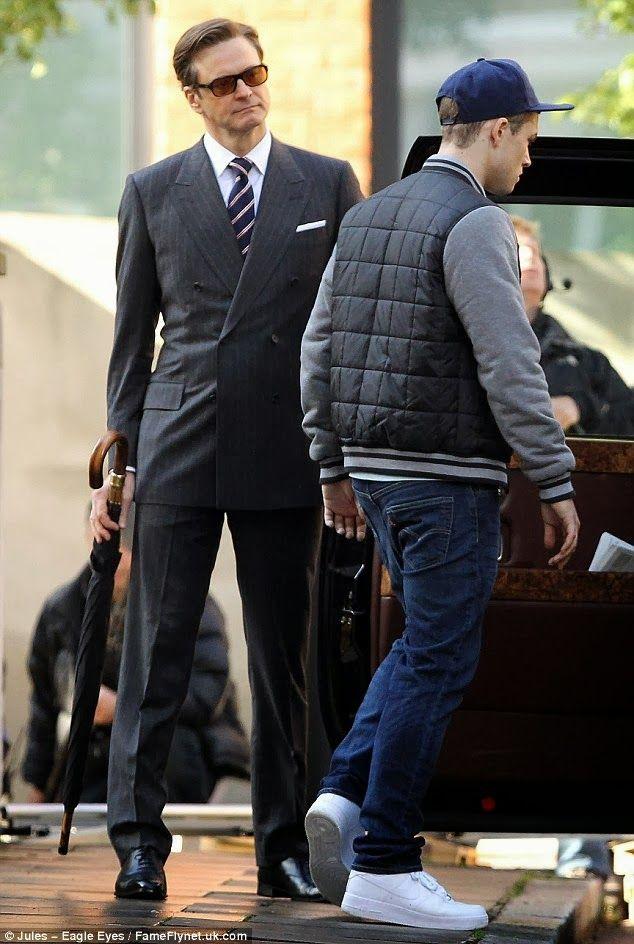 CIA☆こちら映画中央情報局です: The Secret Service: 「キック・アス」のマシュー・ヴォーン監督と原作者のマーク・ミラーとが再びチームを組んだスパイ・スリラー映画「ザ・シークレット・サービス」のセット・フォト!!