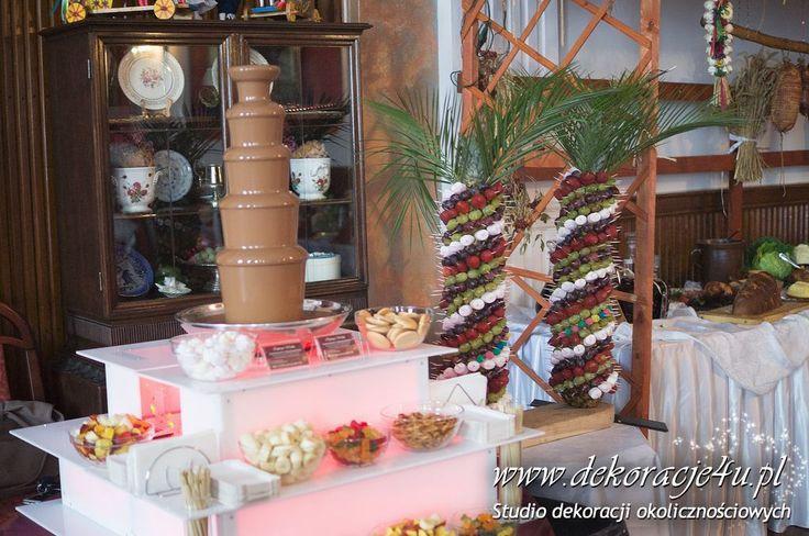 Czekolada i palma - www.inspiracje-weselne.pl