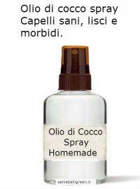Olio di Cocco spray per capelli sani