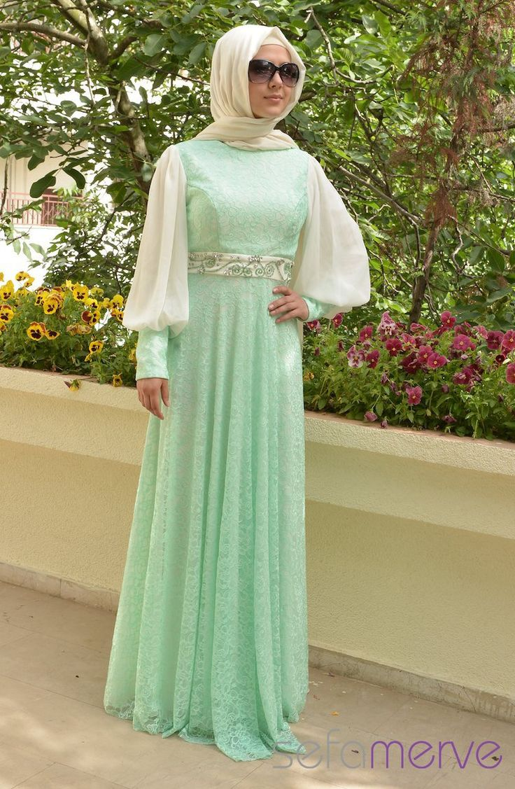 Mint Green Dress - For when I attend a wedding in Turkey!