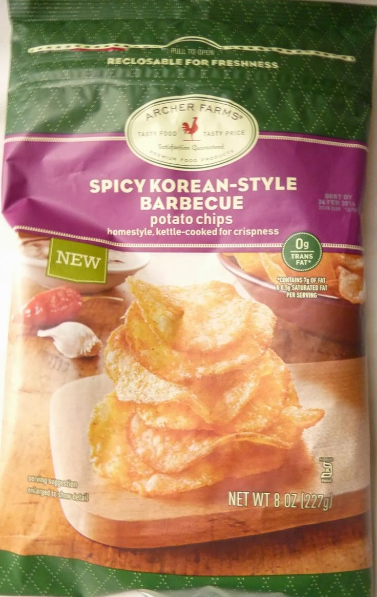 Archer Farms Spicy Korean-Style Barbecue Chips!