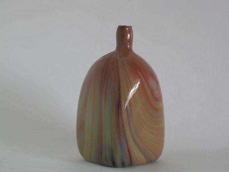 Lorenzo Radi. Chalcedonio vase (unfinished).Circa 1900.