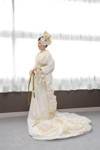 純白の白無垢をより素敵に♡参考にしたい和モダンな白無垢コーディネート | 結婚式準備はBLESS(ブレス)