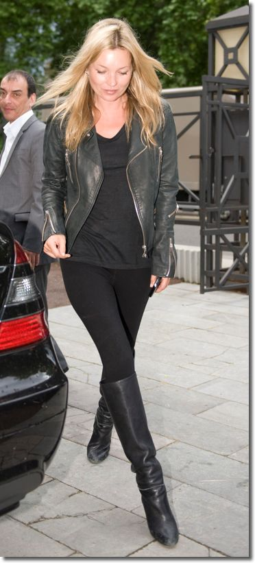 ケイト・モスに学ぶ!参考にしたいブーツのコーデ・スタイル・ファッション♪