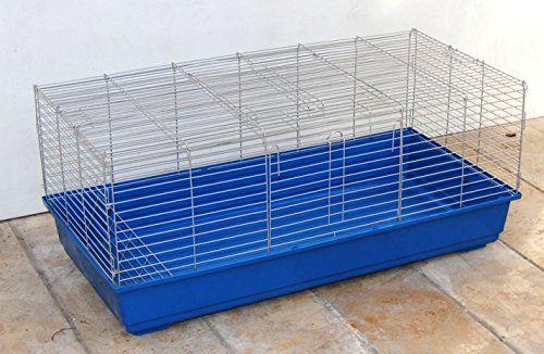 XXL Jaula de cobaya Jaula de conejos Jaula roedor 1.00 M  – Jaula para cobayas, conejos, roedores, 1 metro – !!! Las porciones de la libre circulación de sus roedores !!! La parte superior se puede utilizar como corrales gratuitos para de – n césped werden.Eine...
