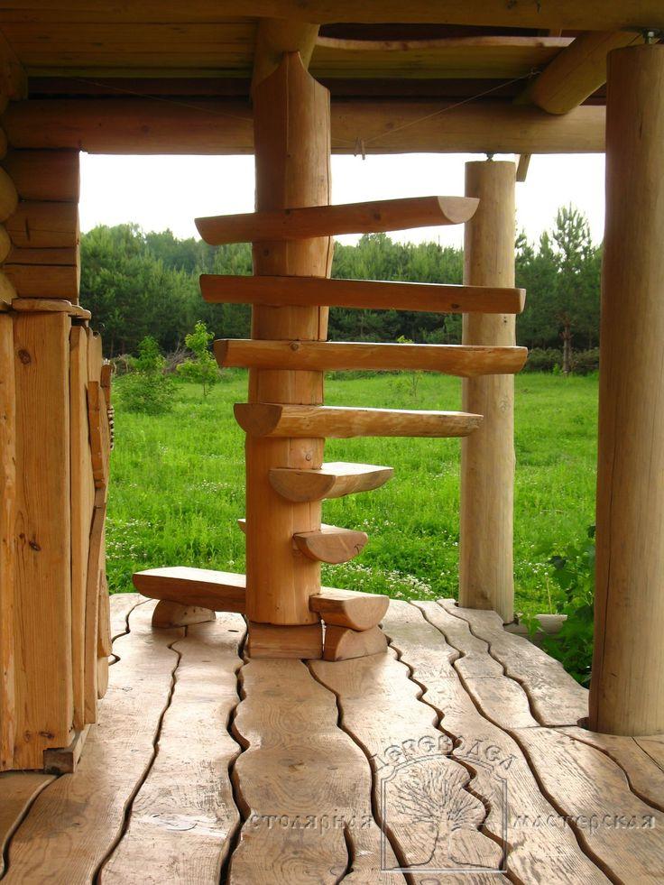 Фотоальбом - Вид альбома: Малые садовые строения - Столярная мастерская Дереводел