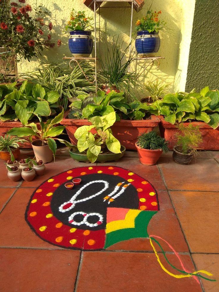 Pin by NEHA on decoration in 2020 Rangoli designs diwali