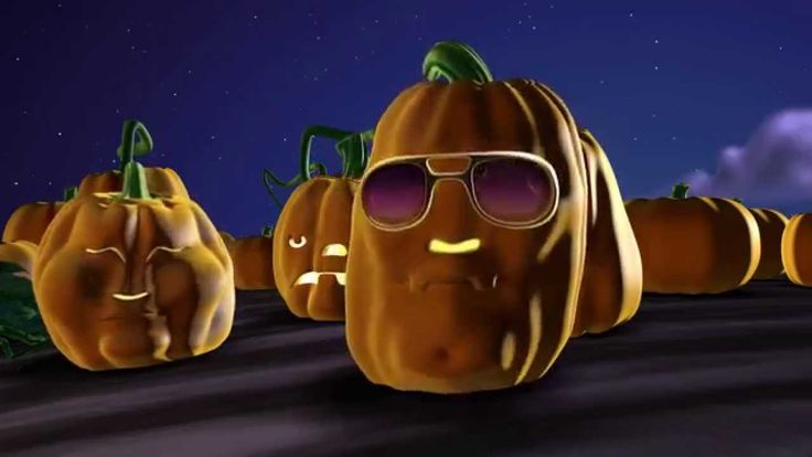 Singing Pumpkins 3D Animation Halloween - YouTube: