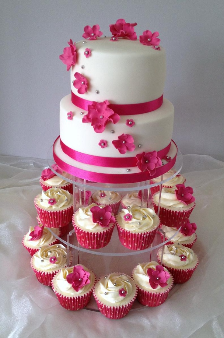 Hot Pink Cake Images : 17 best ideas about Hot Pink Cakes on Pinterest Pink ...