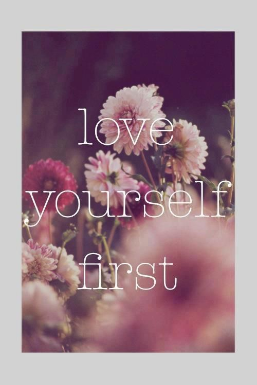 Love yourself first, the best advice I ever received. It was at the time I learned to please myself, worry about my needs at that time, and of course, learn to love myself that my husband came into my life. I was able to give him the love I've always wanted to give, but I had to love myself first :)