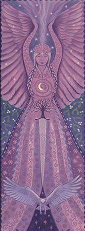 Air Goddess Card