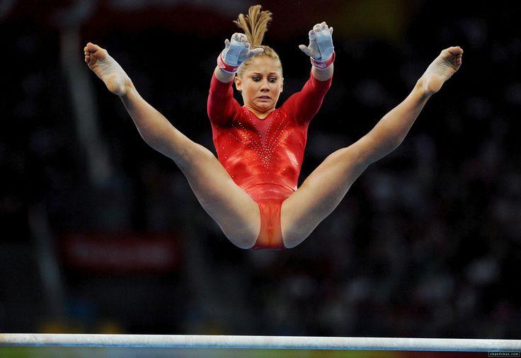Gymnast shawn johnson cameltoe