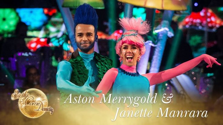 Aston Merrygold and Janette Manrara Cha Cha to 'Can't Stop The Feeling' ...