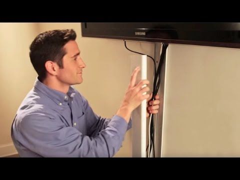 best 25 hide tv cables ideas on pinterest hiding cables. Black Bedroom Furniture Sets. Home Design Ideas