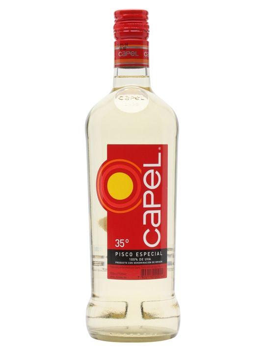 Pisco Capel er en klassisk Pisco på 35% - en af de få Pisco som sælges over hele verden. Brug den i cocktails, eller nyd den over et par isterninger.  #picso #cocktail