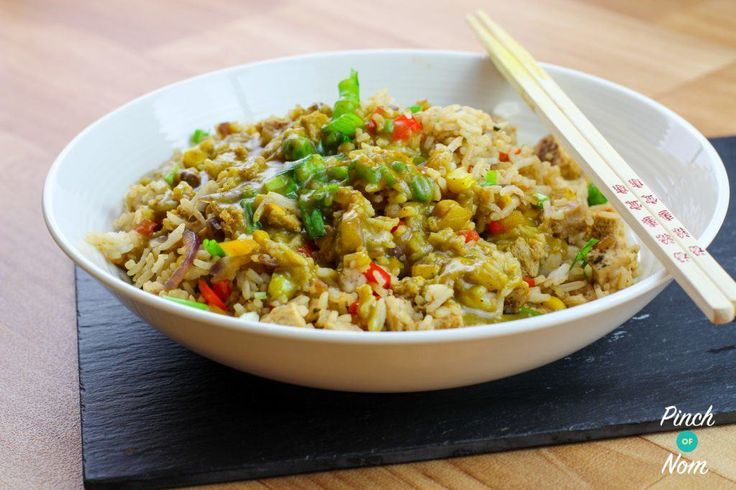 Syn Free Fakeaway Fried Rice | Slimming World