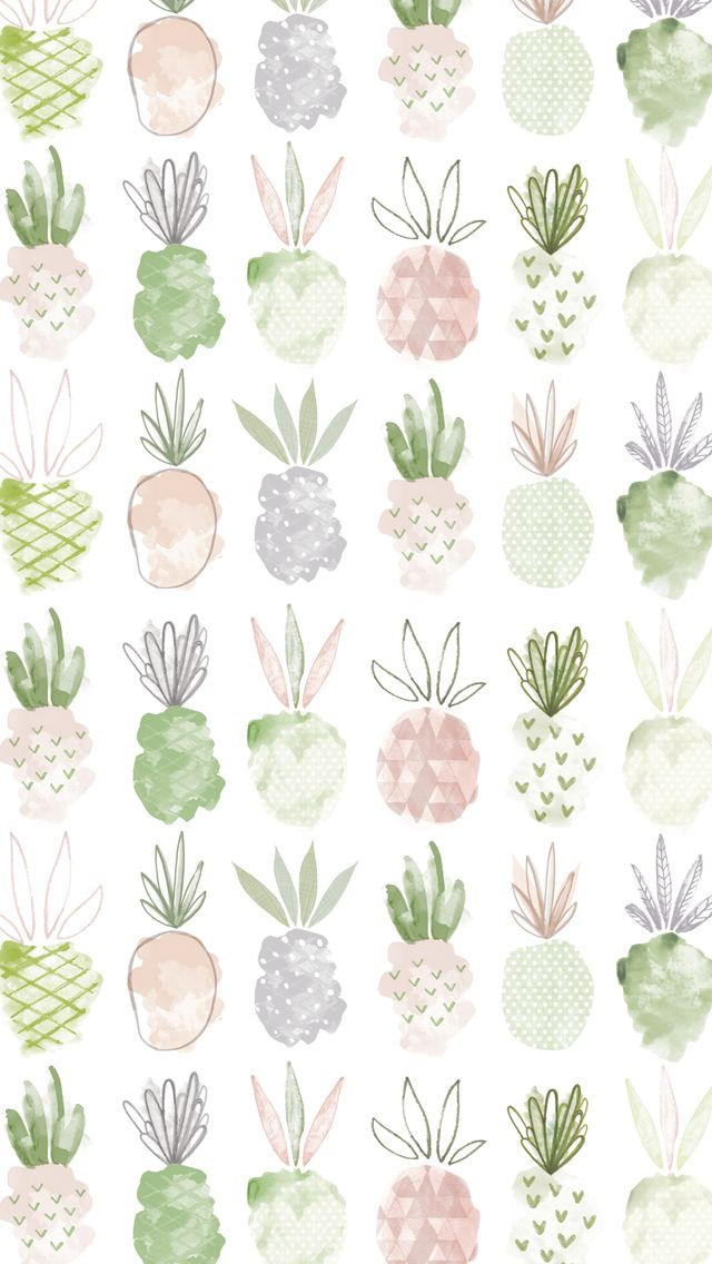 Update your laptop, desktop and mobile with a set of illustrated wallpapers by Emma Kate