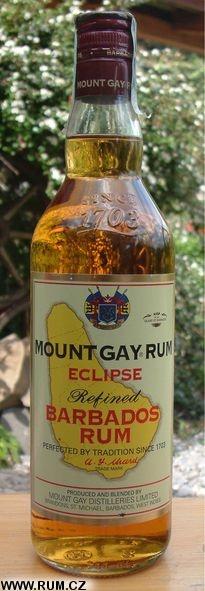 Mount Gay Rum Eclipse Refined Barbados Rum