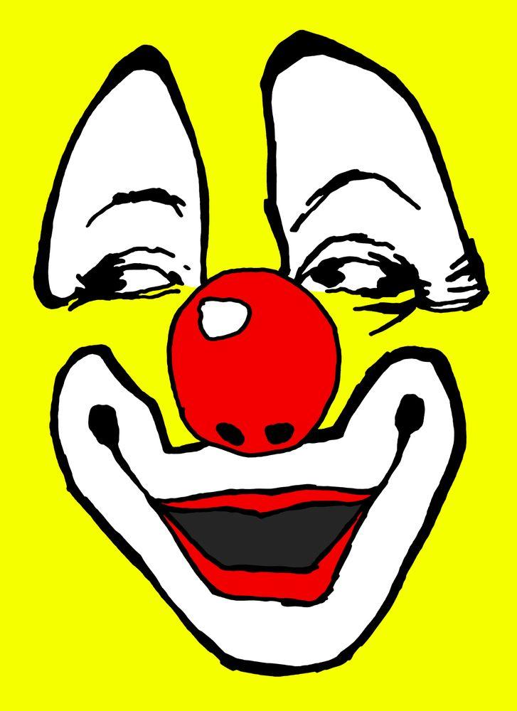 Clown Art Clown Illustration Clown Pop Art Art Print By Vincent Russell Art X Small Clown Illustration Pop Art Art