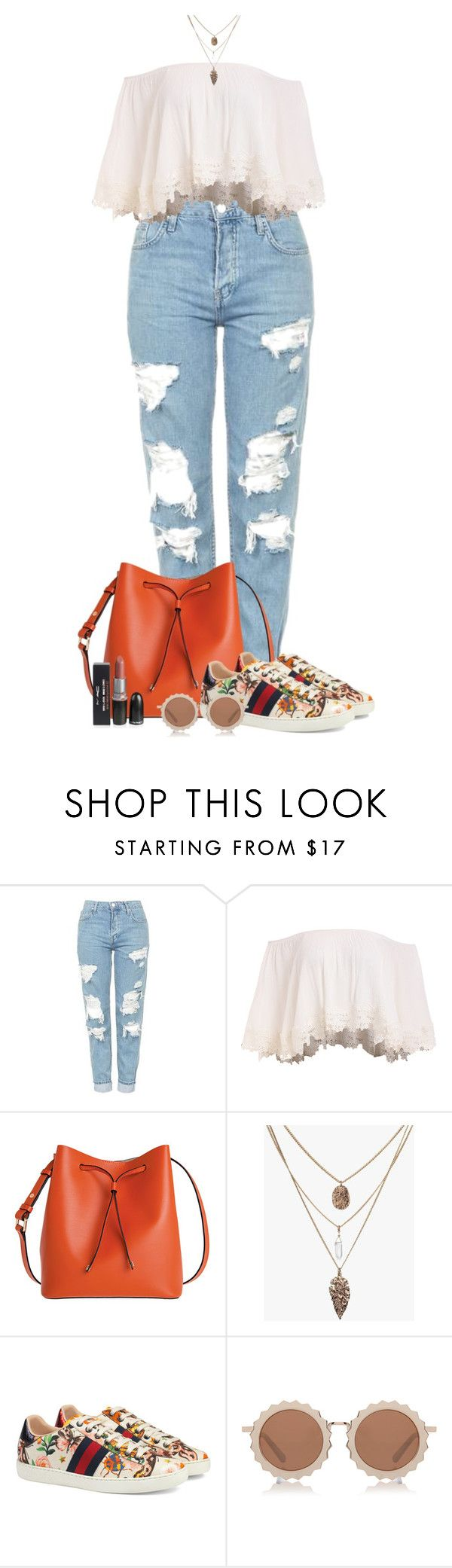 """""""Take me somewhere new"""" by blondeshoopaholic on Polyvore featuring moda, Topshop, Lodis, Gucci e House of Holland"""