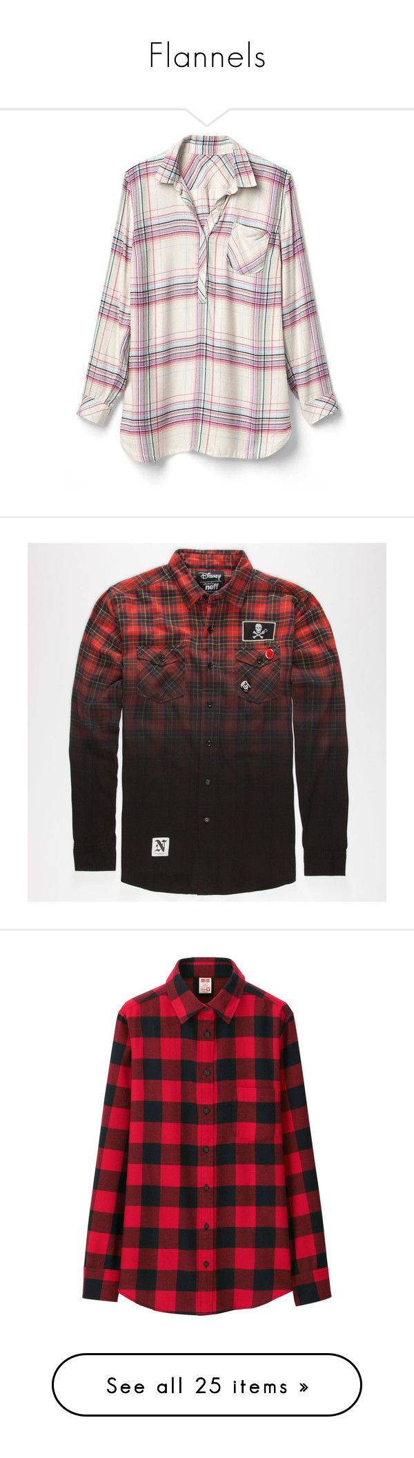 """""""Flannels"""" by derpybabyguppy ❤ liked on Polyvore featuring tops, regular, white plaid, long sleeve henley shirt, white button shirt, white long sleeve shirt, long sleeve plaid shirt, long sleeve tops, men's fashion and men's clothing"""