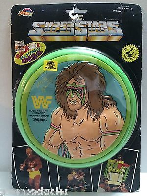 (TAS008550) - WWE WWF WCW Wrestling Radical Flying Disc - Ultimate Warrior
