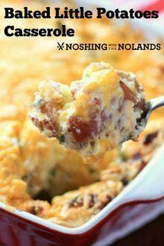 Baked Little Potato Baked Little Potato Casserole by Noshing...  Baked Little Potato Baked Little Potato Casserole by Noshing With The Nolands Recipe : http://ift.tt/1hGiZgA And @ItsNutella  http://ift.tt/2v8iUYW
