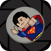 Therapy App 411: App reviews by SLPs, OTs, and other special education professionals: LEGO Super Hero Movie Maker