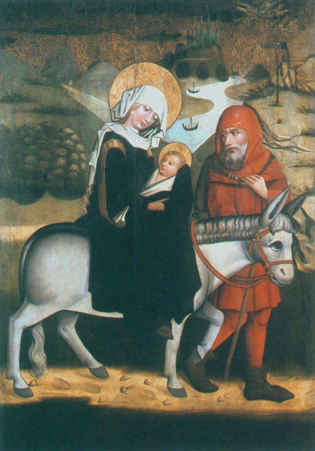 lata 60 XV wieku, twórczość rdzennie polska, szkoła krakowska i ucieczka do Egiptu; subtelny, liryczny realizm! Mistrz Tryptyku Dominikańskiego