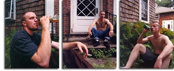 David Hilliard - beer drinking