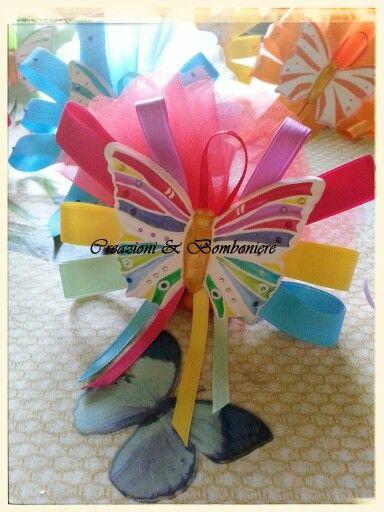 Farfalla profumata e colorata!