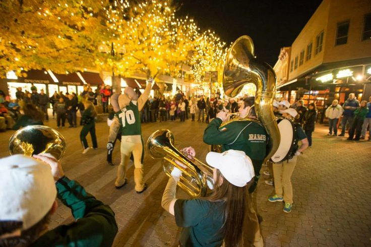 """We're thankful for the Fort Collins community that supports the University as one of the best college towns in America. (Outside magazine named Fort Collins an """"editor's choice"""" for its """"America's Best Towns 2013"""" edition.) This is as good as it gets!"""