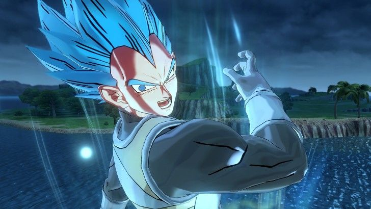 Vegeta Super Saiyan Blue Db Xenoverse 2 Wallpaper