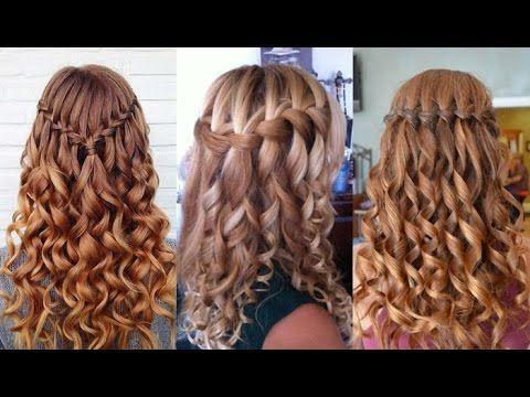 Waterfall Braid Hairstyles 2017 – #Flecht #Frisuren #Wasserfall
