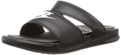 Nike Womens Wmns Benassi Duo Ultra Slide BLACKWHITE 9 US * Click on the image for additional details.