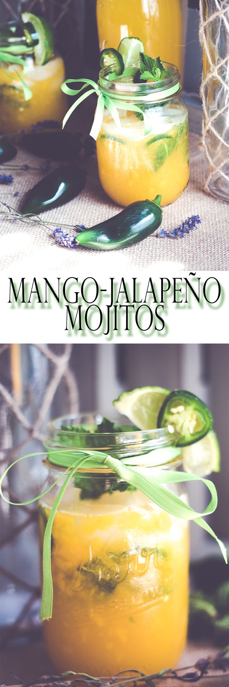 www.beingmelody.com | Jalapeno-Mango Mojito is the perfect cocktail for a party or drinks after work. | http://www.beingmelody.com