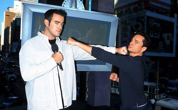Total Request Live, hosted by Carson Daly, was broadcast on MTV for the first time in 1998.