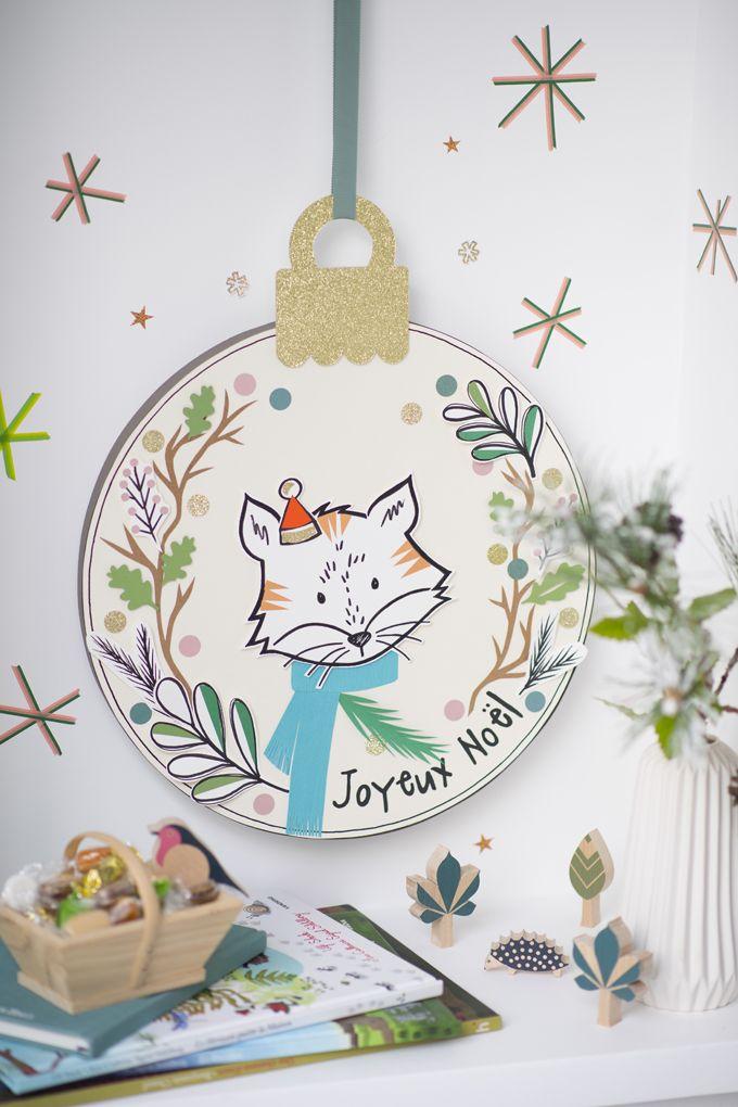 Boule De Noel à Faire.Fabriquer Une Boule De Noël En Papier Creative Kinder