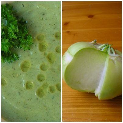 koolrabi-soep
