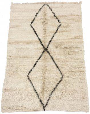 Kelim+Marokkaanse+Berber+tapijt+Beni+Ouarain+225+x+155+cm
