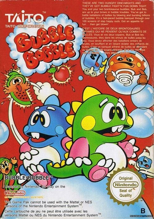 Play Bubble Bobble Game on Nintendo NES Online in your Browser. ➤ Enter and Start Playing NOW!