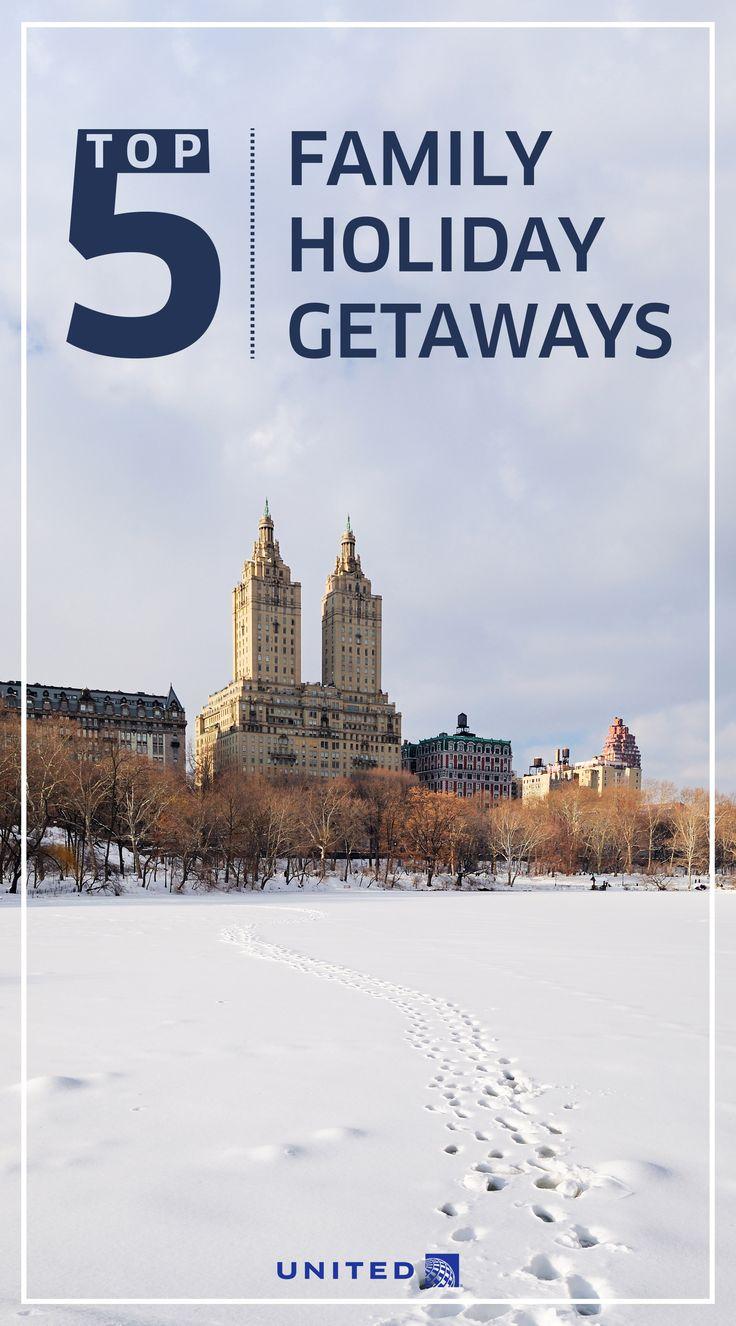 Family-friendly holiday getaways // Tampa Bay, Florida | Quebec City | Phoenix, Arizona | New York City | San Diego, California