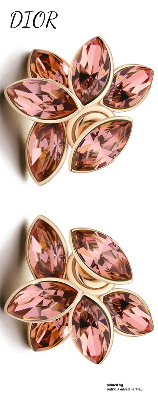 Dior Flower Earrings