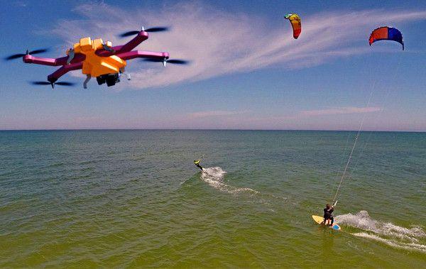 Airdog, un drone qui vous suit pour vous filmer sous votre meilleur angle