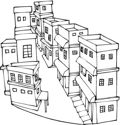 A Street Of City Coloring Page From Houses Category Select 27252 Printable Crafts Cartoons Nature Animals Bible And Many More