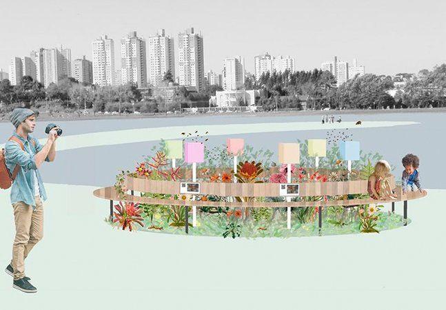 """A prefeitura de Curitiba desenvolveu um projeto inusitado para ser implantado nos parques da cidade. Apresentado ao público no último mês, o """"Jardins de Mel"""" prevê a instalação de caixas de abelhas nativas em diferentes parques da cidade. O objetivo de inserir as colmeias de abelhas sem ferrão nos espaços públicos é criar um grande programa de polinização na cidade, além de promover a interação das abelhas, que não são agressivas, com os frequentadores do local. Para isso, foram…"""