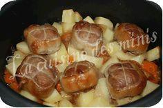 Paupiettes de veau à l'ULTRA PLUS de TUPPERWARE - La cuisine des minis