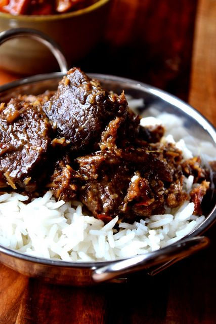 Ox Cheek Rendang - a frugal rendition of one of Indonesia's most famous curries. Packed with lemongrass and coconut, its flavour will knock your socks off.