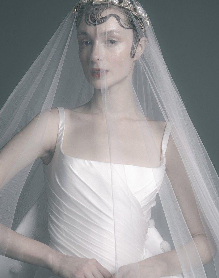 Nicolas Jebran Fall 2020 2021 Fashion Wedding Dresses Nicolas